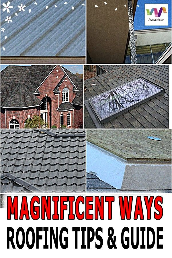 Awesome Information On Handling Your Roof Roofing Types Of Roofing Materials Cool Roof