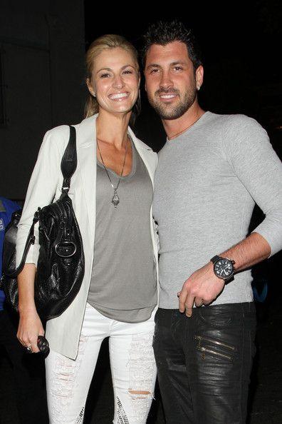 Erin Andrews & Maksim Chmerkovskiy Spotted Dirty Dancing