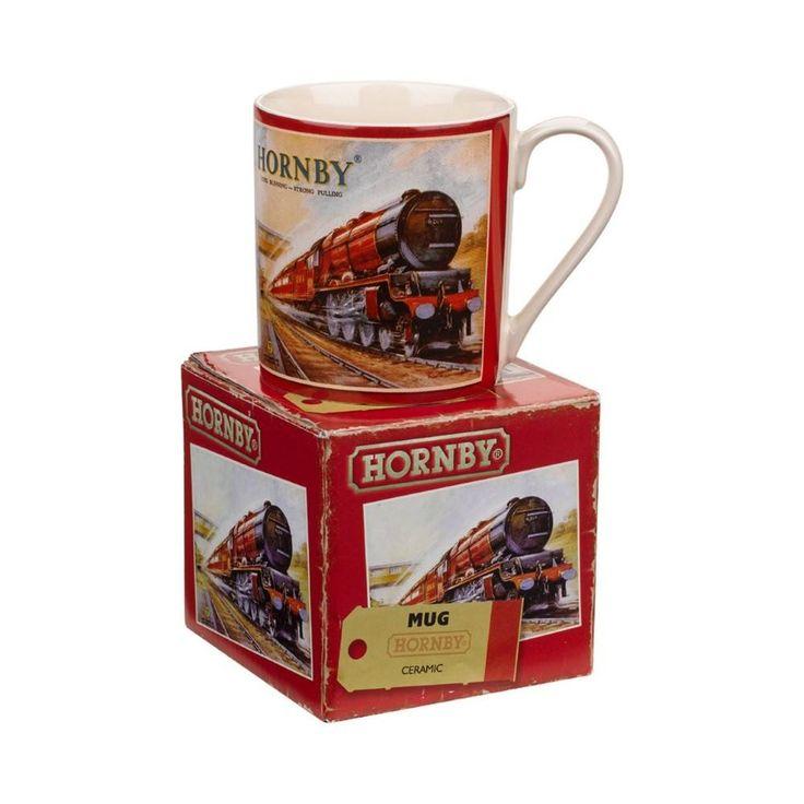 Hornby Enamel Mug - Wild & Wolf  #gift #xmas #quirky #santa #cool #stocking #birthday #mzube #shopping #gifts   http://www.mzube.co.uk