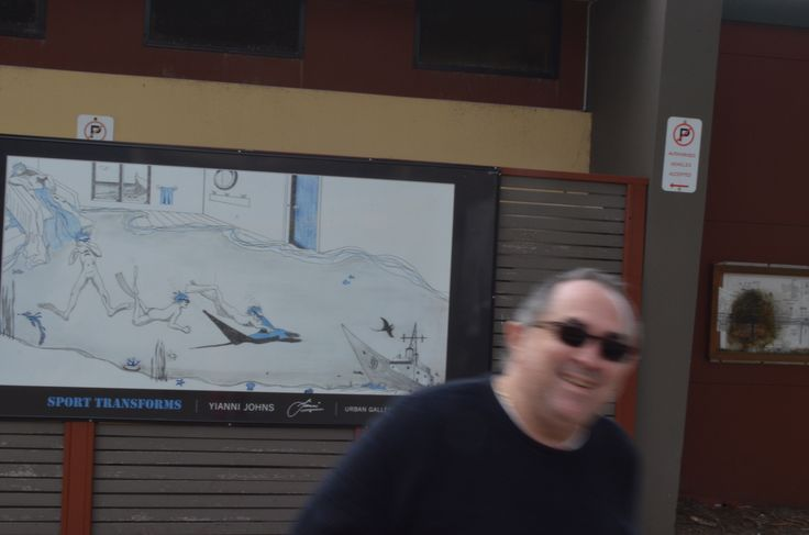 Me and My Billboard at Terrigal NSW.