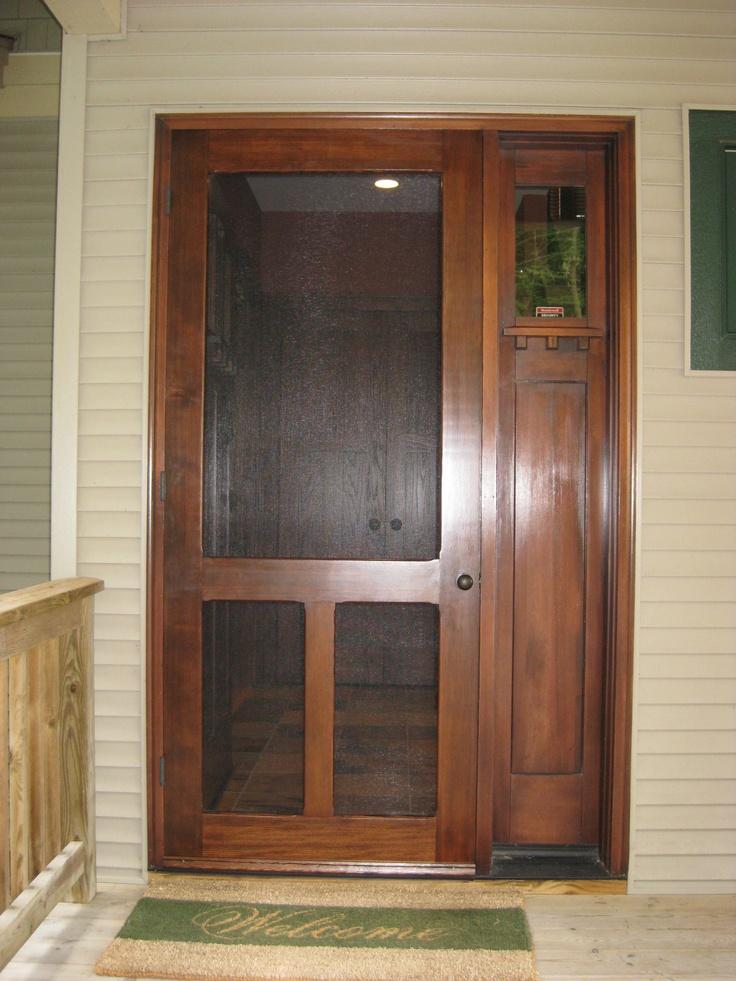 221 best screen storm doors images on pinterest storm for Front entrance storm doors