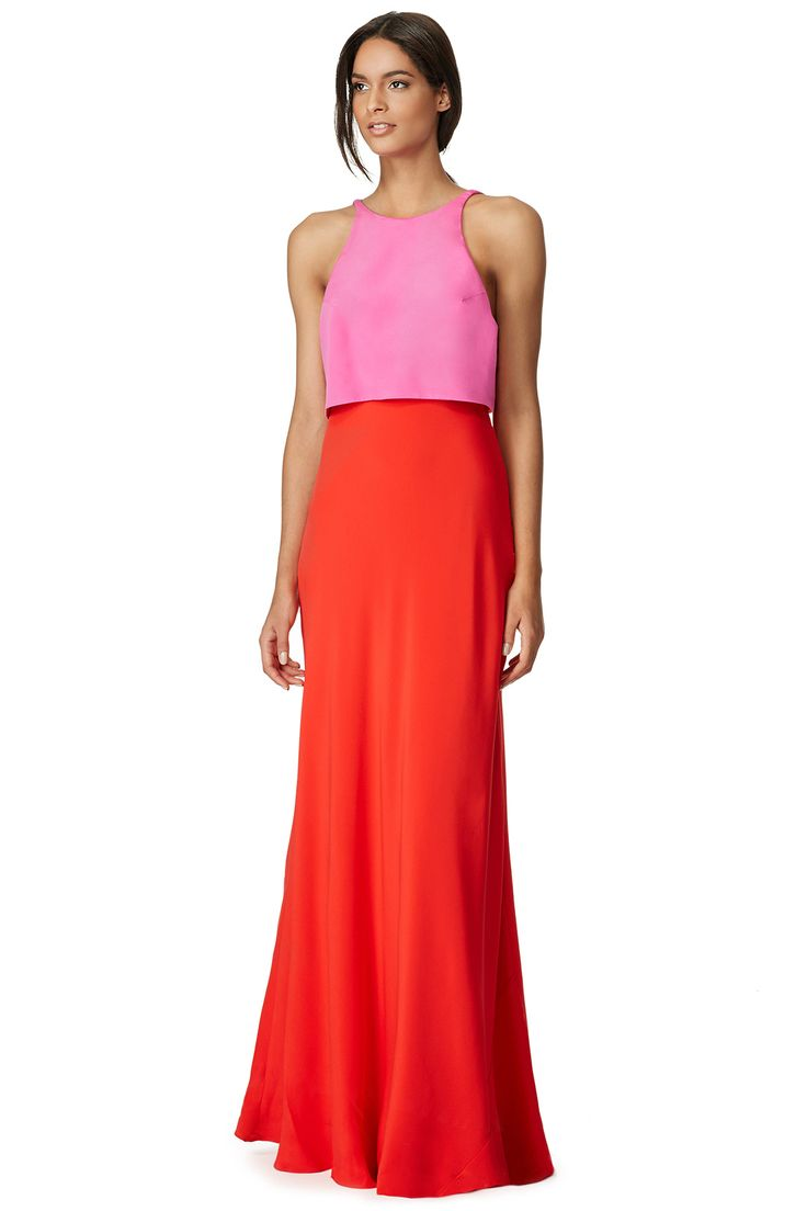 Rent Lovely Duo Gown by Jill Jill Stuart for $100 only at Rent the Runway.