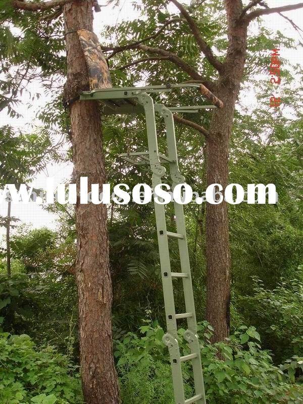 Homemade Ladder Deer Stands Telescoping Retractable Ladder