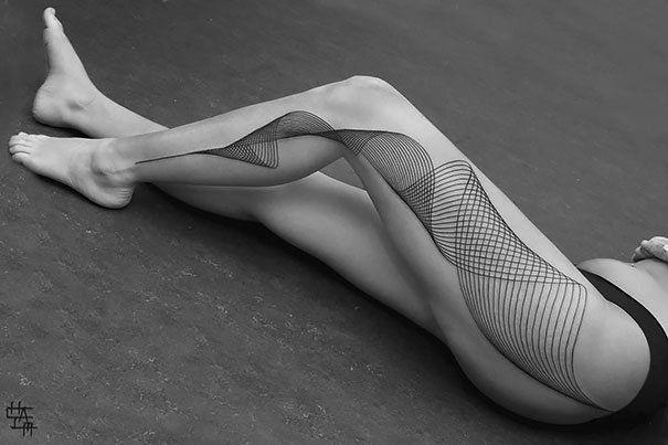 25 умопомрачительных 3D татуировок