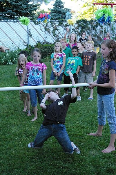 Limbo rock! Great fun activity to do & kids love to do the limbo rock!!!
