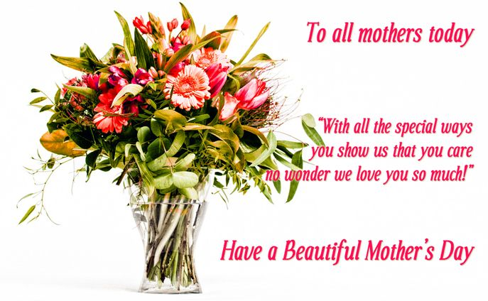 Happy Mother S Day Flowers Happy Mothers Day Pinterest