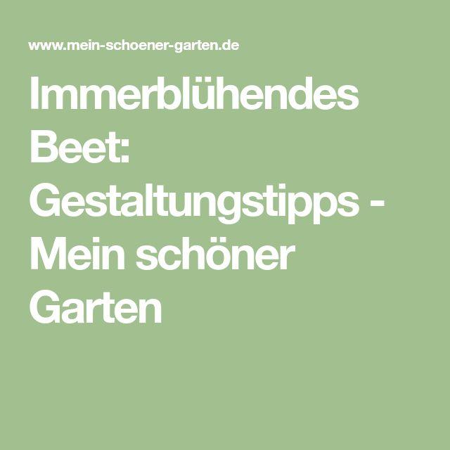 Immerblühendes Beet: Gestaltungstipps   Mein Schöner Garten