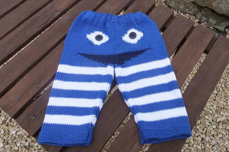 Customer order of Fun Bum trousers. These are knitted in the finest Egyptian baby cotton and are beautifully soft. They are machine washable at a 30 delicate cycle.  Up to and including 1 year - £18 + £2.80 P&P  From 1 to 2 years - £20 + £2.80 P&P