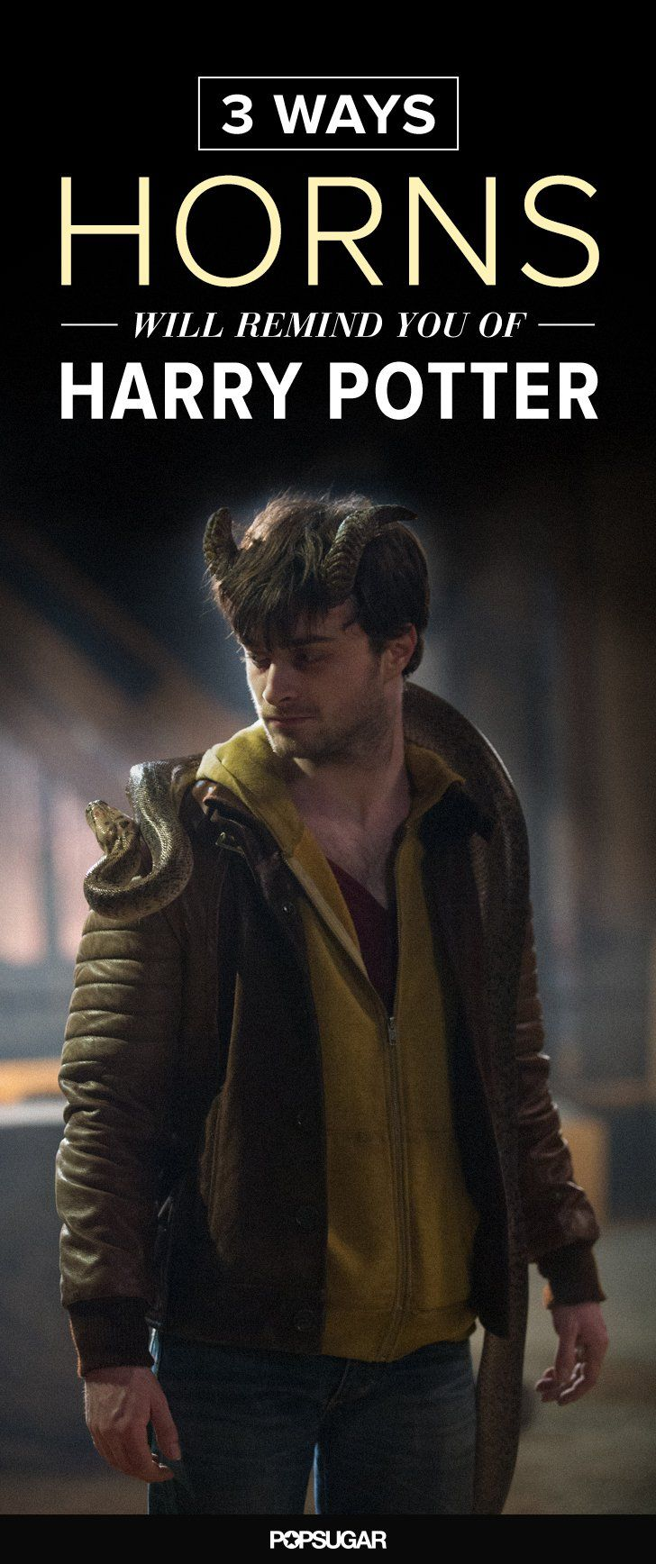 Pin for Later: 3 Ways Daniel Radcliffe's New Movie Will Remind You of Harry Potter