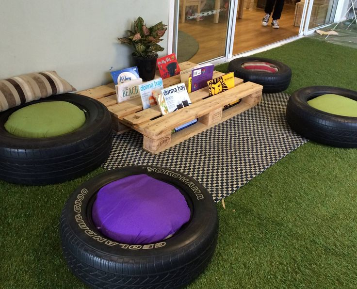 pallets and tyres