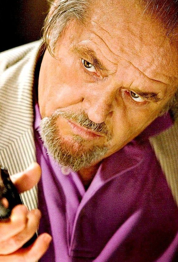 The Departed - Jack Nicholson as Irish mob boss Frank Costello #GangsterFlick