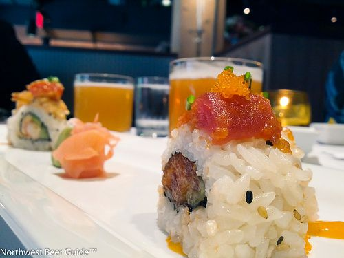 Henry's Tavern Spicy Ahi Sushi Roll