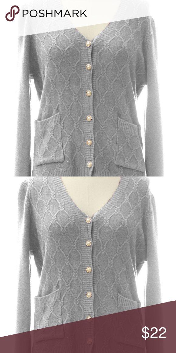 I just added this listing on Poshmark: Pocket Front Braided Cardigan Sweater Embellished. #shopmycloset #poshmark #fashion #shopping #style #forsale #Jon & anna #Sweaters