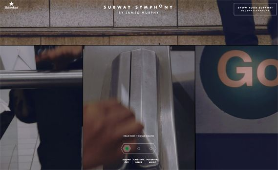 Creative Review - James Murphy wants to make the NYC subway sing