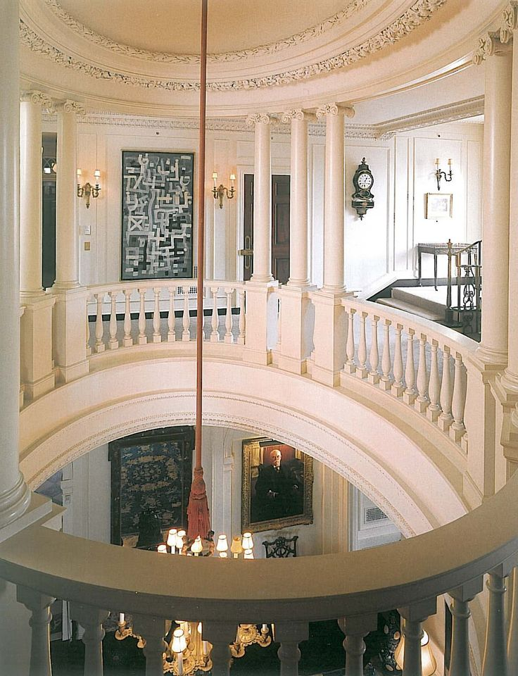 40 Luxurious Grand Foyers For Your Elegant Home: Kykuit:Rockefeller's 40 Room Mansion In Westchester County