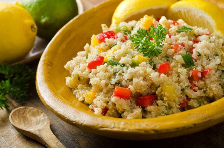 Salade de quinoa et fêta
