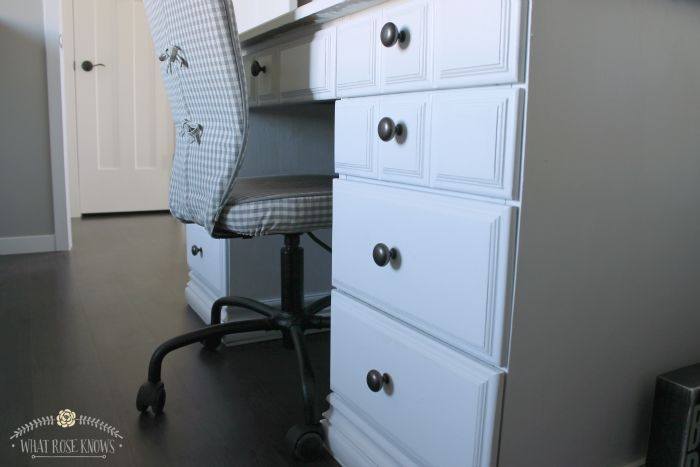 Desk Makeover With Menards Chalk Paint Dutch Boy Dimensions Chalky Finish Review Boys Dutch