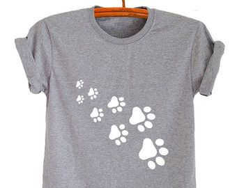 Kat Paws TShirt afbeelding mannen vrouwen leuk katje overhemd Print T Shirt Hipster T-shirts voor tieners Top Outfits Instagram Fashion Blogger
