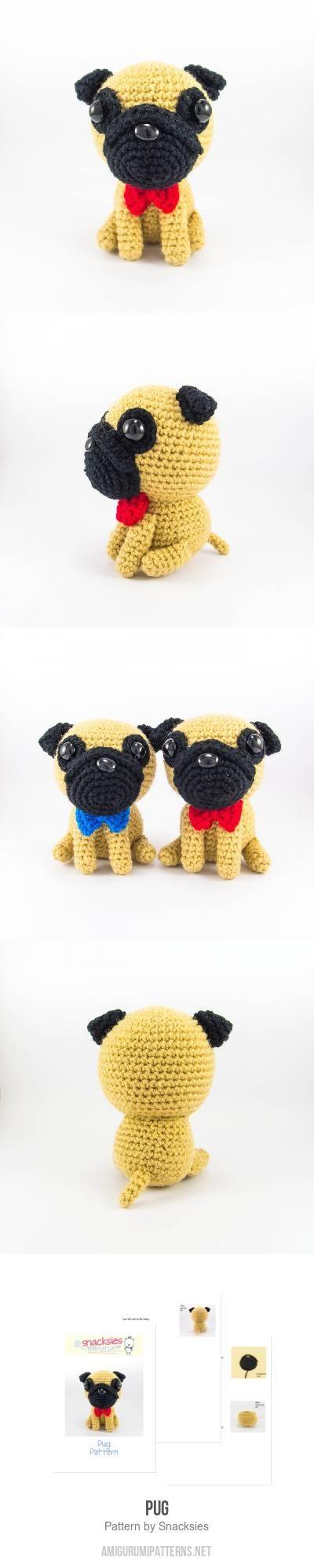 Little Pug Amigurumi Pattern