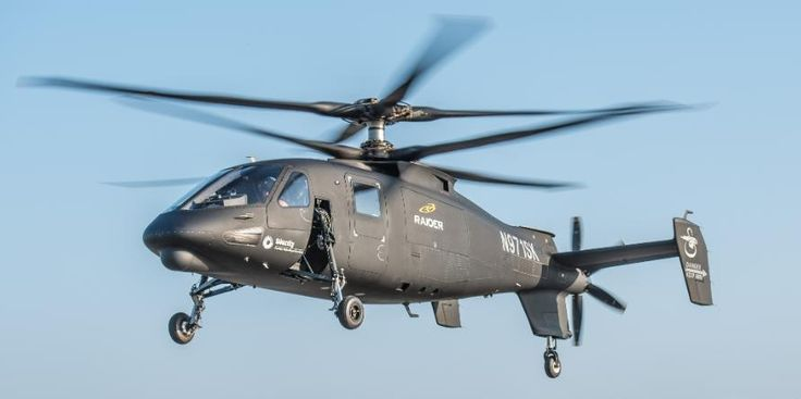 "Sikorsky's S-97 ""Raider"" Pusher Prop Chopper Takes Its first Flight"