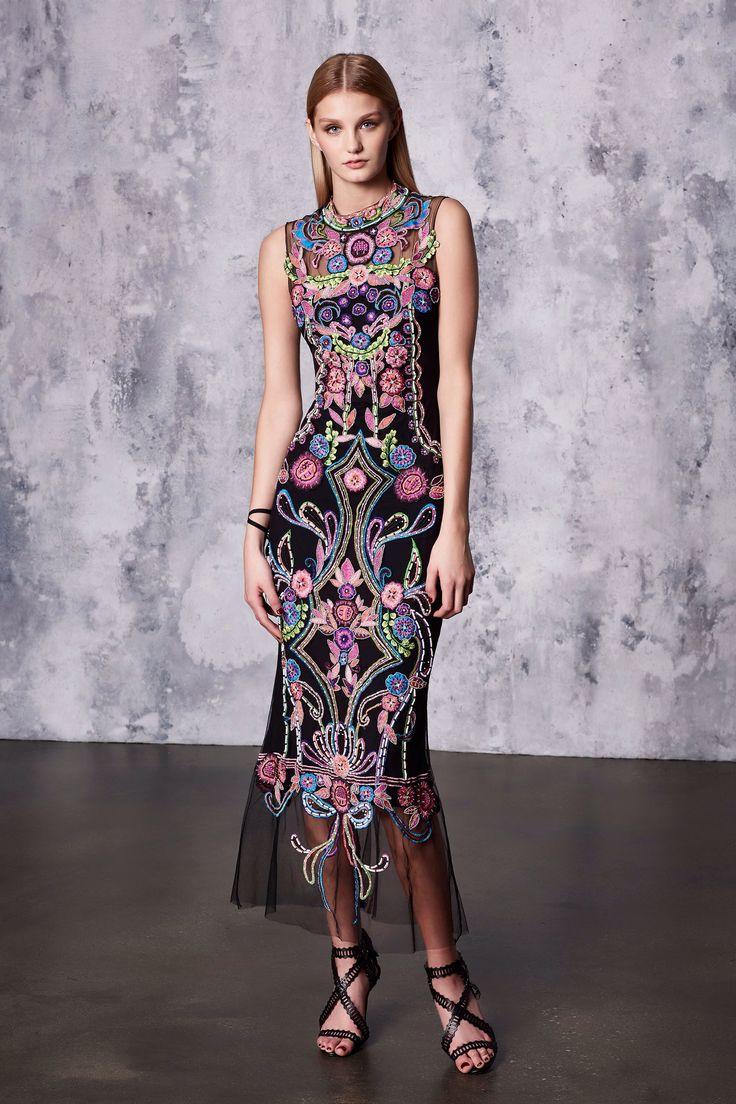 Marchesa Notte Resort 2018 Fashion Show Collection