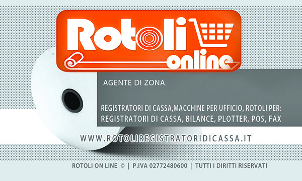 Biglietto da visita - Rotoli online