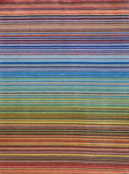 Crazy Stripes Source Mondial has long been associated with achieving cleverly designed striped rugs and carpets.