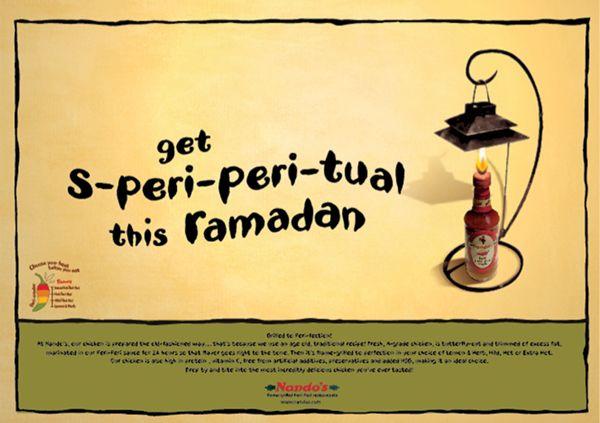 NANDO's Ramadan Campaign by Therese Karkafi, via Behance