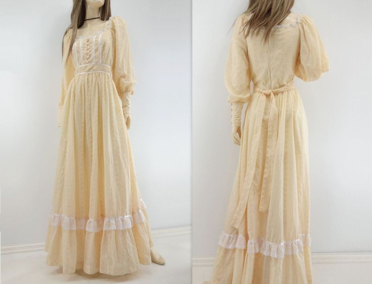 70s Maxi Dress Vintage Boho Dress Vintage Maxi Dress Boho Wedding Dress Peach Maxi Dress Blush Pink Dress Eyelet Lace Dress 70s Wedding L by StarletVintage on Etsy https://www.etsy.com/listing/519295399/70s-maxi-dress-vintage-boho-dress