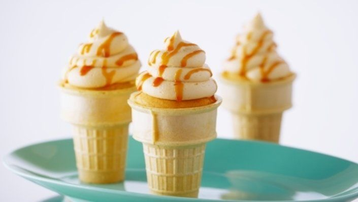 You'll find the ultimate Anna Olson Dulce de Leche Ice Cream Cone Cupcakes recipe and even more incredible feasts waiting to be devoured right here on Food Network UK.