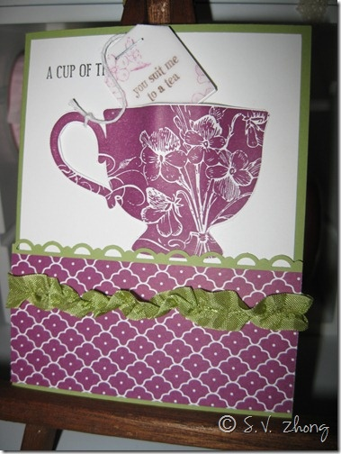 "vellum ""tea bag"" ...clever idea...Cards Ideas, Handmade Cards, Cup Of Tea, Cups Of Teas, Greeting Cards, Favourite Cards, Cards 10, Cards Su Teas Shoppe, Cards 'Generation"