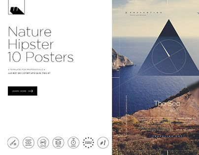"""Check out new work on my @Behance portfolio: """"Hipster Nature 10 Posters"""" http://be.net/gallery/32792715/Hipster-Nature-10-Posters"""