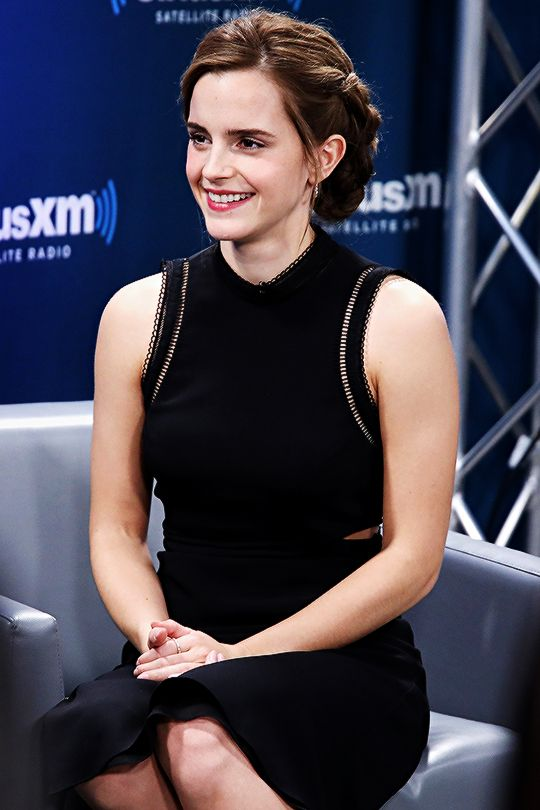 SiriusXM's 'Town Hall' With Emma Watson (March 10, 2017)  Pinned by @lilyriverside