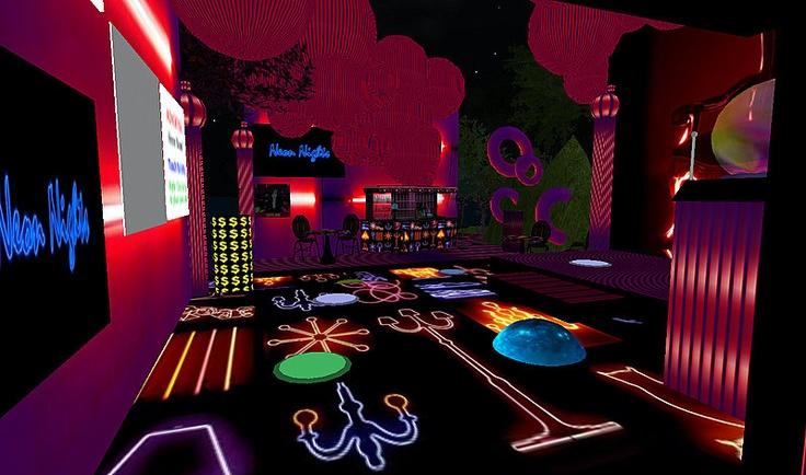 neon room teen bedroom ideas pinterest