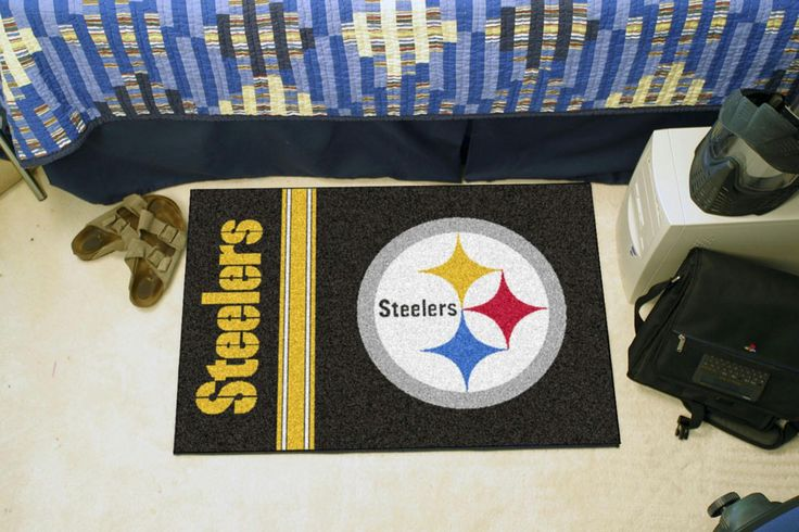 Pittsburgh Steelers Uniform Inspired Starter Rug 20x30