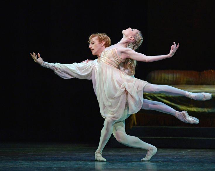 Sarah Lamb and Steven McRae in Romeo and Juliet. © Dave Morgan, courtesy the Royal Opera House.