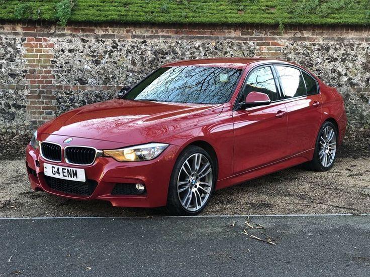 eBay: 2012 (12) BMW 318D M SPORT F30 3 SERIES RED SALVAGE DAMAGED REPAIRABLE #carparts #carrepair