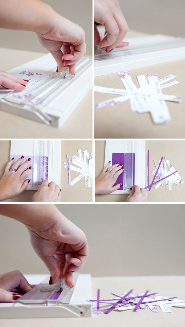 DIY | wedding invitation ornament. How awesome!!!! -- Nice gist for the new couple.