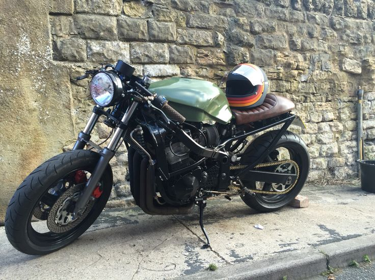 Suzuki gsx600f cafe racer project
