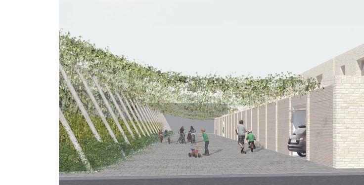 Sociale Huisvesting Bommelbilk | Poperinge (Projecten) - Dehullu Architecten