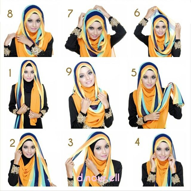This is an easy and quick hijab tutorial for full chest coverage, it can be styled with any type of scarves and colors looks amazing on this style.   To get it done follow these easy steps listed below: 1.…