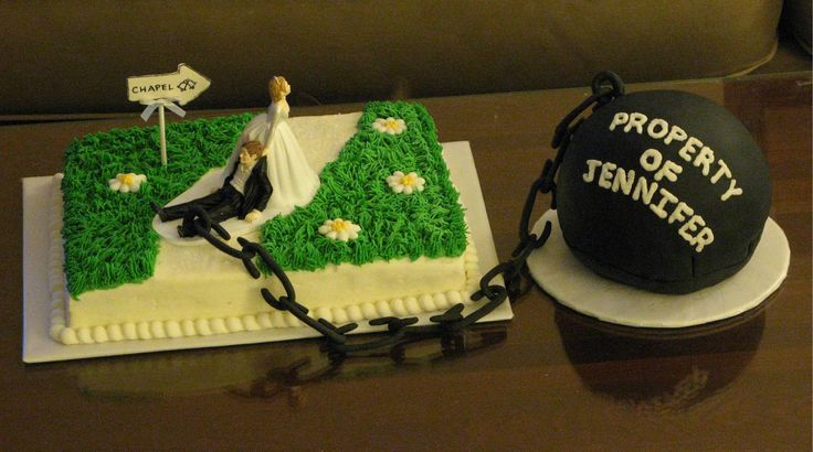 Bachelor Cake Design