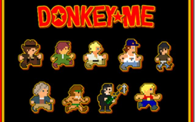 Donkey Me, l'erede indie di Donkey Kong in salsa hollywoodiana! #retro #donkey #platform #film #pc #retrogame