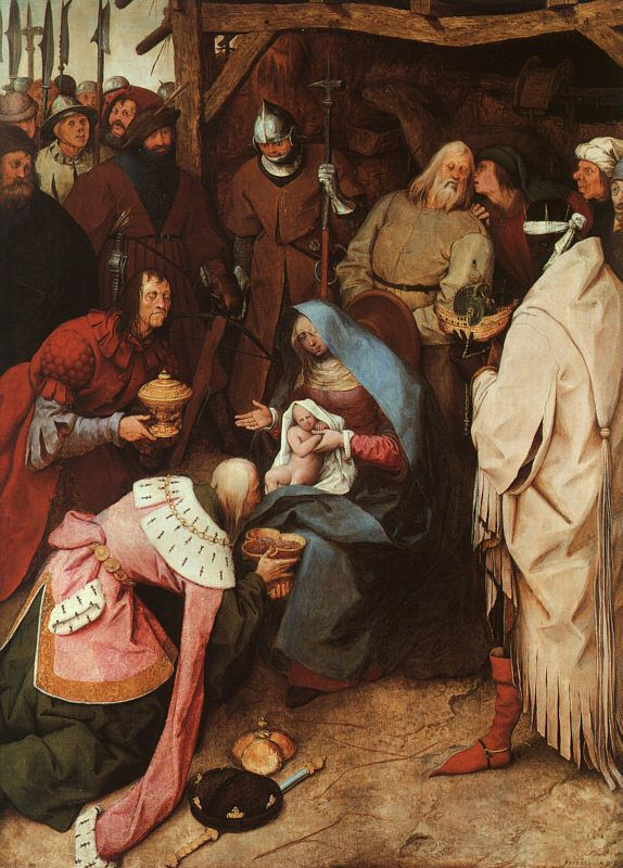 The Adoration of the Kings by Pieter Bruegel the Elder, 1564