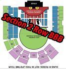 #Ticket   GUNS N ROSES TICKETS BRISBANE  ROW BBB SECTION 2  UPPER TIERED SEATING #Australia