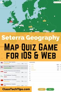 Settera Geography Map Quiz Game for iOS & Web