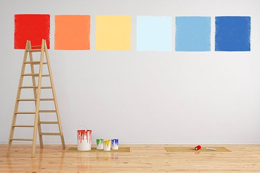 malování v interiéru