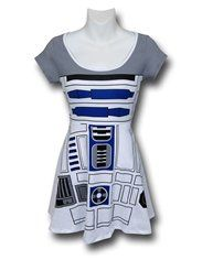 Star Wars R2D2 Women's Skater Dress