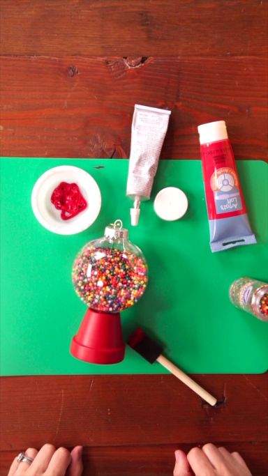 How to Make Candy Machine Ornaments
