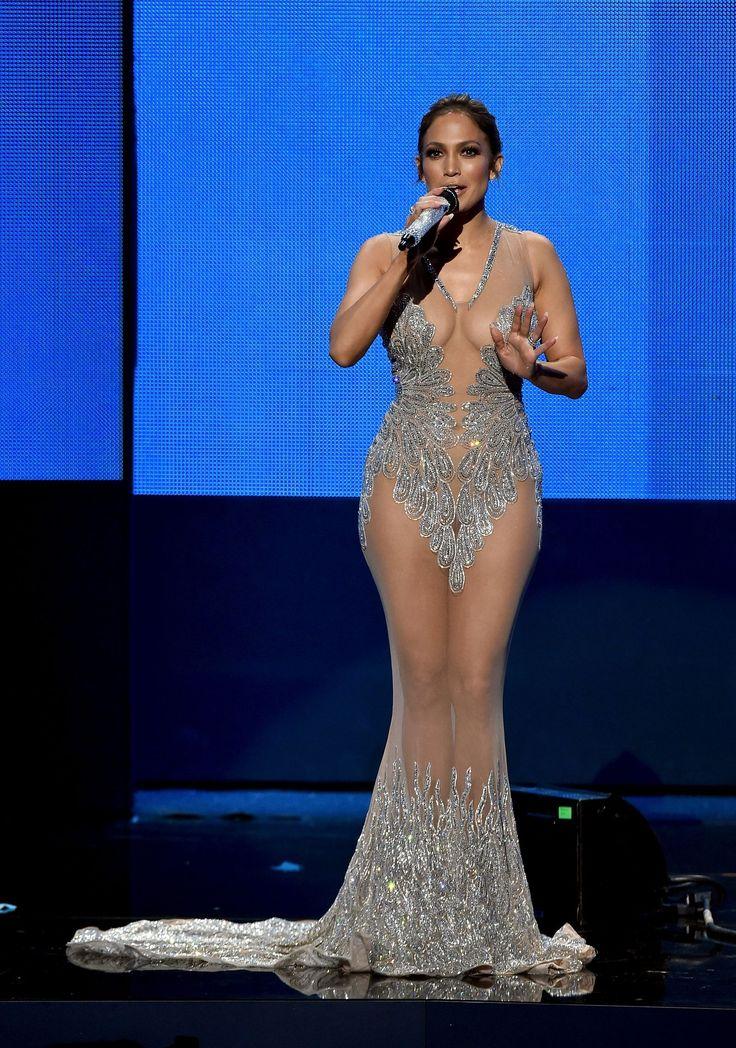 See All of Jennifer Lopez's Best Looks From The 2015 AMAs - HarpersBAZAAR.com